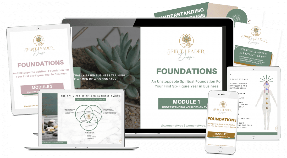 Spirit Leader Design Foundation Women of Woo